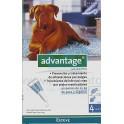 Advantage 400 4 Pipetas para Perros mas de 25 Kg
