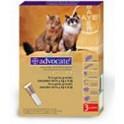ADVOCATE 3 pipetas desparasitar gatos y hurones 4-8 Kg