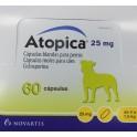 ATOPICA 25 mg 60 Capsulas dermatitis atopica cronica en perros