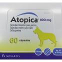 ATOPICA 100 mg 60 CAPSULAS dermatitis atopica cronica en perros