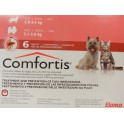 COMFORTIS 3,1-3,8 Kg 180 mg 6 Comprimidos pulgas en perros y gatos