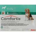 COMFORTIS 9´5-14´7 Kg 665 mg 6 Comprimidos pulgas en perros