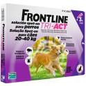 Frontline Tri-Act 20-40 Kg Antiparasitario Pipetas para perros