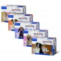 EFFITIX PERROS 4 Pipetas Antiparasitario Externo Perros