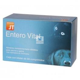 ENTERO VITAL 60 Comprimidos Antidiarreido Regulador Intestinal para Perros y Gatos