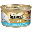 PURINA GOLD DUO PESCADO-ESPINACA-BECHAMEL 24 x 85 gr Comida para Gatos