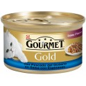 PURINA GOLD DUO PESCADO-ESPINACA DOBLE PLACER 24 x 85 gr Comida para Gatos