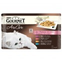 GOURMET CARTE POLLO-TRUCHA 24x85 g Comida para Gatos