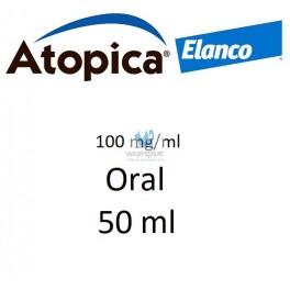 ATOPICA ORAL PERROS 100 mg/ml 50 ml Dermatitis Atópica en Perros y Gatos