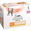 PROPLAN FELINE OM OBESITY POUCH Blsitas 10 X 85 g Comida para Gatos