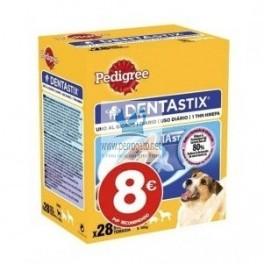 DENTASTIX OFERTA 4 x 28 Barritas Higiene Dental de Perros