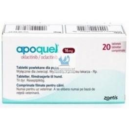 APOQUEL 16 mg Dermatitis 20 Comprimidos para perros