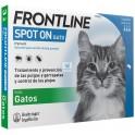 FRONTLINE GATO Antiparasitario Externo en Pipetas desparasitar gatos
