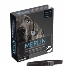 MERLIN 1 Unidad Collar Antiparasitario para Perros