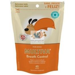 MULTIVA BREATH CONTROL 30 Chews Control del Aliento en Perros