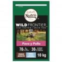 NUTRO WILD FRONTIER PERRO RAZAS GRANDES PAVO-POLLO 10 kg Pienso para Perros