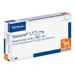YPOZANE 1.875 mg (3-7.5 Kg) 7 Comprimidos Antiandrogeno para perros