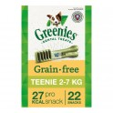 GREENIES GRAIN FREE 6 Bolsas de 170 g Snack Dental para perros