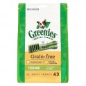 GREENIES GRAIN FREE 6 Bolsas de 340 g Snack Dental para Perros