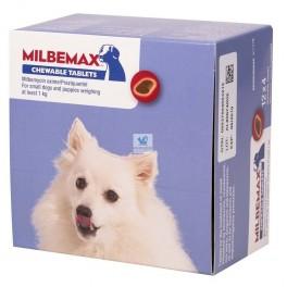MILBEMAX MASTICABLE Cahorros y perros pequeños 48 Comprimidos desparasitar perros
