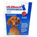 MILBEMAX MASTICABLE PERROS 5/25 Kg 2 Comprimidos desparasitar perros
