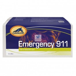 Emergency 911 Jeringas 12x12 ml Protector Digestivo para Caballos