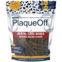 PLAQUEOFF DENTAL BONES BACON 485 g Higiene bucal de Perros