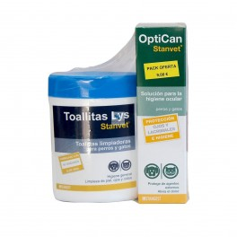 OPTICAN + TOALLITAS 40 UNIDADES (PACK )