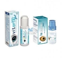 VITOFTAL 50 ml + LACRISTAL NEO 10 ml (PACK) Salud Ocular de Perros y Gatos
