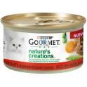 GOURMET GATO ADULTO NATURE CREATIONS 24x85 gramos Comida para Gatos