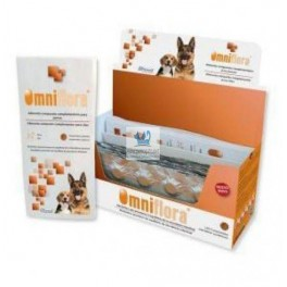 OMNIFLORA 120 Comprimidos para Perros, Control de Flora intestinal