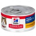 Hills Feline SENIOR POLLO 7+ LATAS 24X82 g Comida para Gatos
