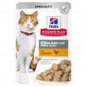 Hills Feline ADULT STERILISED POLLO BOLSITAS 12 X 85 g comida para gatos