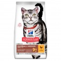 Hills Feline Adult Hairball Indoor 3 Kg Comida para Gatos