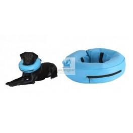 COLLAR HINCHABLE KRUUSE PVC AZUL Collar de Recuperacion para Perros