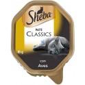 SHEBA CLASSICS ADULTO POLLO 22 TARRINAS 85 g Comida para Gatos