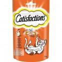 CATISFACTIONS TIRAS POLLO 2 x 20 unidades Snack para gatos