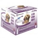 VECTRA 3D 12 Pipetas Antiparasitario Externo para Perros