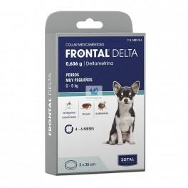 FRONTAL DELTA COLLAR 35 Cm Perros Muy Pequeños Collar Antiparasitario Perros