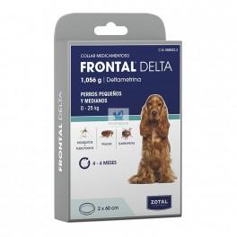 FRONTAL DELTA COLLAR 60 Cm Perros Medianos y Pequeños Collar Antiparasitario Perros