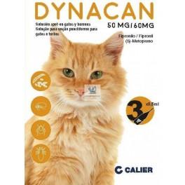 DYNACAN GATO 3 PIPETAS Antiparasitario Pipetas para Gatos