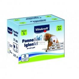 PAÑALES HIGIÉNICOS TALLA S 12 Unidades Higiene de Perros