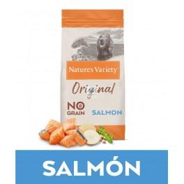 Natures Variety Original Grain Free Medium Adult Salmón 12 Kg Pienso para Perros