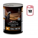 PROPLAN CANINE NF RENAL FUNCTION 12x400 g Perros con problemas Renales
