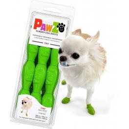 BOTA CAUCHO 12 unidades Calzado Protector para Perros