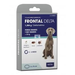 FRONTAL DELTA COLLAR 75 cm Perros Grandes Collar Antiparasitario Perros