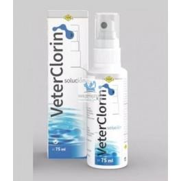VETERCLORIN SOLUCION 75 ml Higiene de Heridas en animales