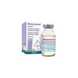 RHEUMOCAM 5 mg/ ml Inyectable 10 ml Antiinflamatorio para perros y gatos