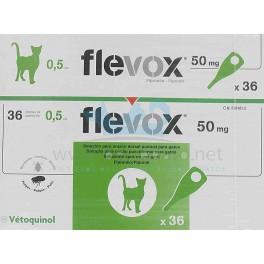 FLEVOX GATO pipetas desparasitar gatos