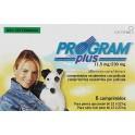Program PLUS PERROS 12/22 Kg 6 Comprimidos desparasitar perros